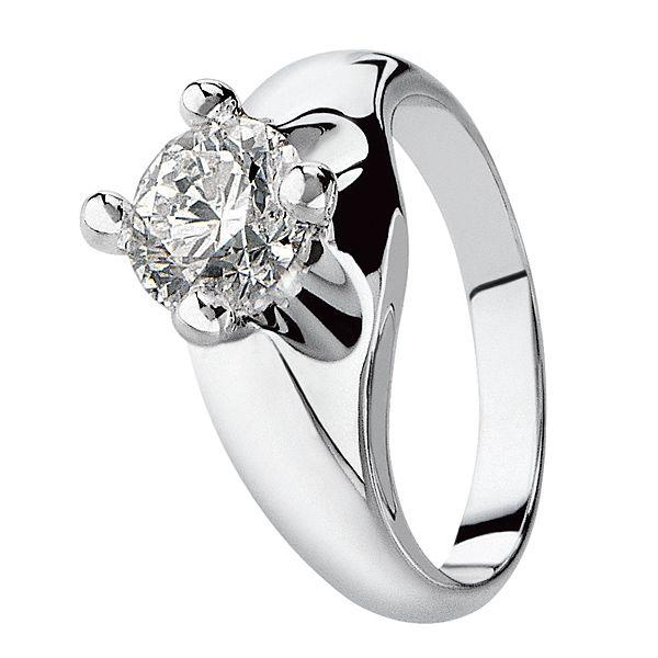 コロナ - BVLGARI(ブルガリ)の婚約指輪(エンゲージメントリング)