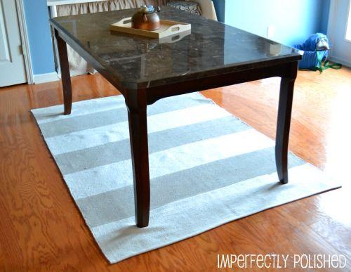 59 best DIY Painted rug ideas images on Pinterest