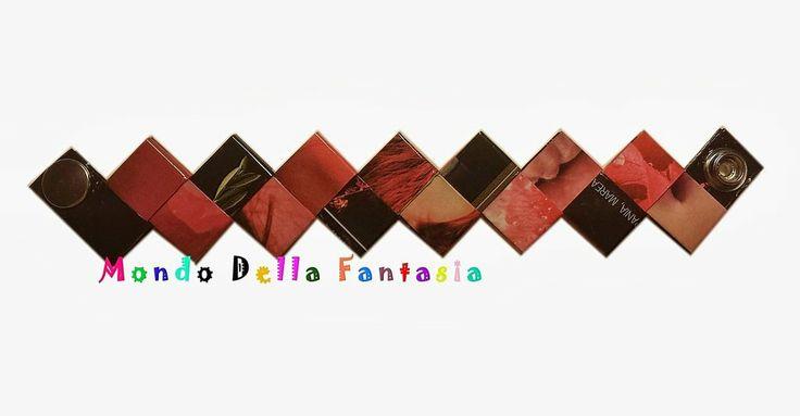"""Braccialetto """"RoseBlack"""" realizzato con le riviste, by Mondo della Fantasia, 8,00 € su misshobby.com"""