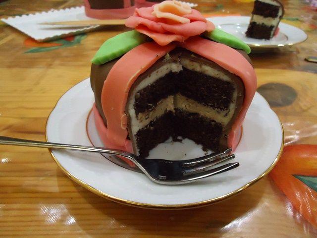 Arte e cucina...le ricette di Marisa e Simona: Minicakes nere al caffè