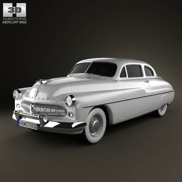 Mercury Eight Coupe 1949 3d Model From Humster3d.com