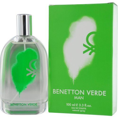 Benetton Verde By United Colors of Benetton, 3.30-Ounce by Benetton. $12.99. This product is a fragrance item that comes in retail packaging. It is recommended for casual wear. Benetton Verde was launched by the design house of United Colors of Benetton. Benetton Verde was launched by the design house of United Colors of Benetton. This product is a fragrance item that comes in retail packaging. It is recommended for casual wear.. Save 63%!