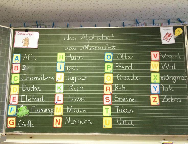 Tier-ABC   Nach Einführung des Alphabets sollten die Kinder zu jedem Buchstaben ein Tier finden. Das unlösbare X hat Xióngmāo (chinesisch für Pandabär) erobert   #abc #deutschunterricht #alphabet #xiongmao #grundschulideen #zweiteklasse