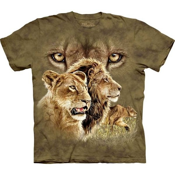 The Mountain Big Cat T-shirt | Find 10 Lions
