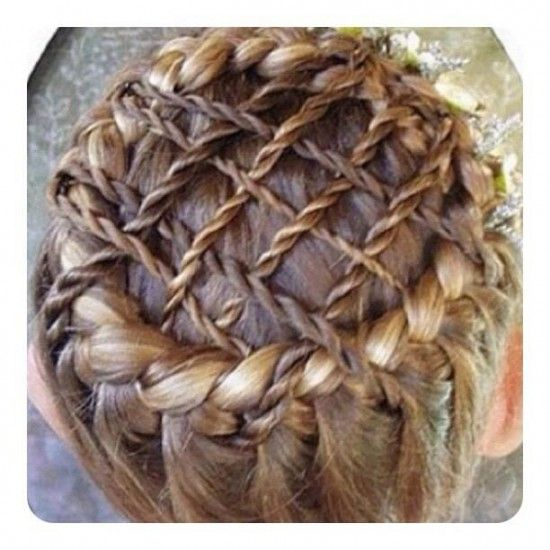 Pleasant 1000 Images About Braids Hair Creations On Pinterest Braided Short Hairstyles Gunalazisus