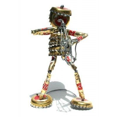 Tin Art Musician