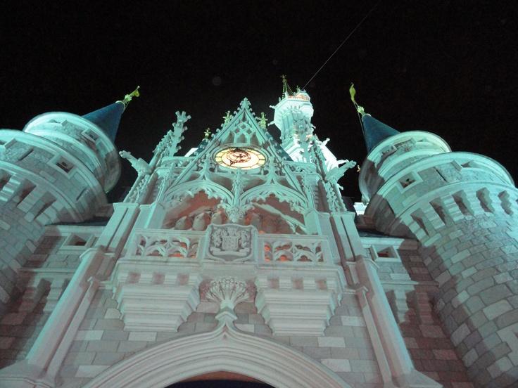 O Castelo de pertinho!