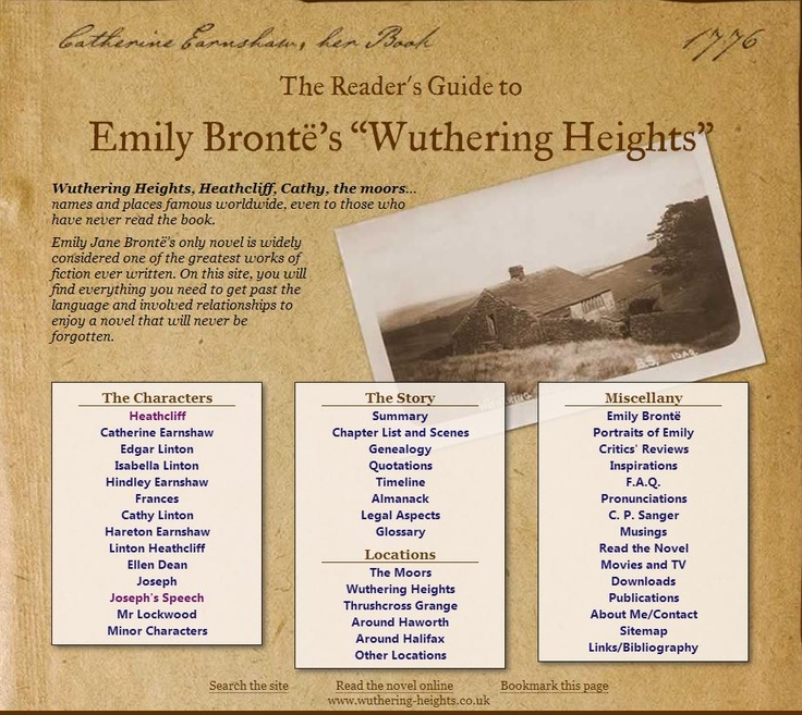 wuthering heights literary essay Wuthering heights by emily brontë integrates the victorian realist tradition with  the  the oxford dictionary of literary terms defines realism as.