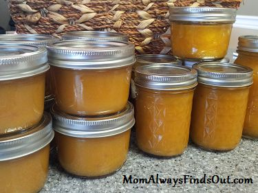 peach jam recipe - no pectin, less sugar.....#TheTexasFoodNetwork #Texas #Recipeshttps://www.facebook.com/TheTexasFoodNetwork