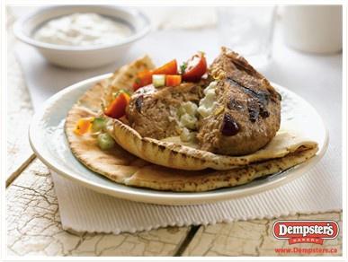 Feta Stuffed Greek Burger from www.Dempsters.ca