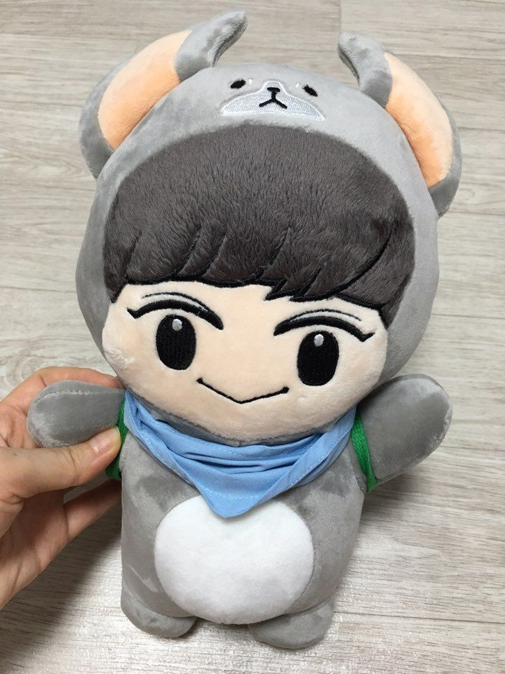 Exo Doll Chan Yeol Park Chanyeol Doll Korea Fanmade Plush Doll | eBay