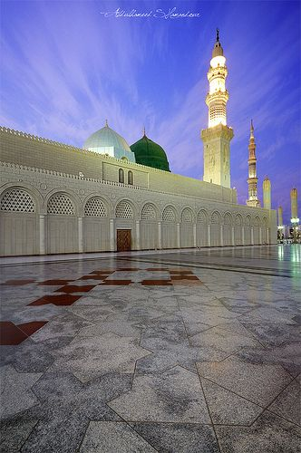 Madeena Munawwara....  Green Dome.... Coolness to the eyes of the MOMINS....