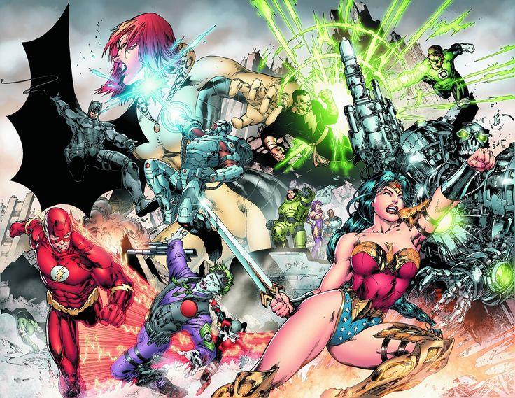 "#DC #Universe #Fan #Art. (DC Universe Online Legends. ""Legendary"" Vol.1#1 Cover) By: Ed Benes & Randy Mayor & Ryan Sook. (THE * 5 * STÅR * ÅWARD * OF: * AW YEAH, IT'S MAJOR ÅWESOMENESS!!!™)[THANK U 4 PINNING!!!<·><]<©>ÅÅÅ+(OB4E)"
