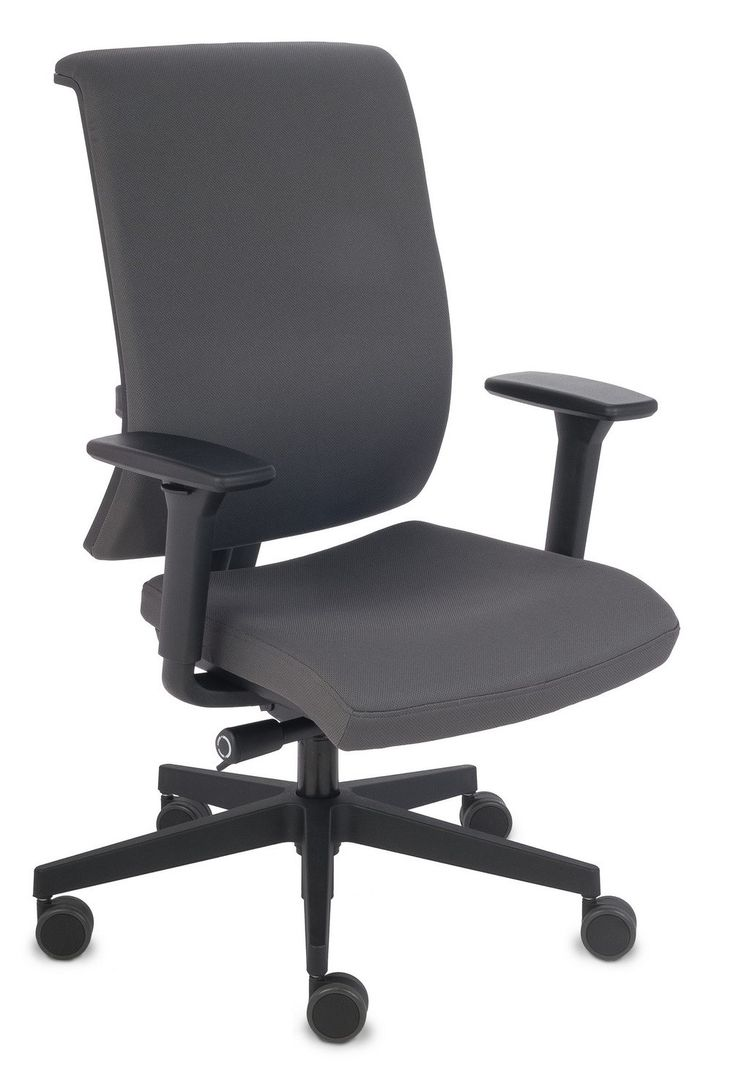 Fotel biurowy Level BT Grospol mix tkanin Biokominki,Grille ogrodowe,Drzwi, Podłogi,Meble,Dekoracje