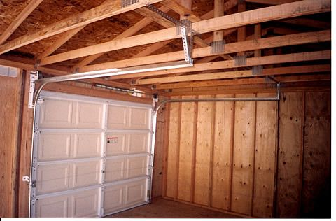 California Custom Sheds Inside 16x24 With Truss Package