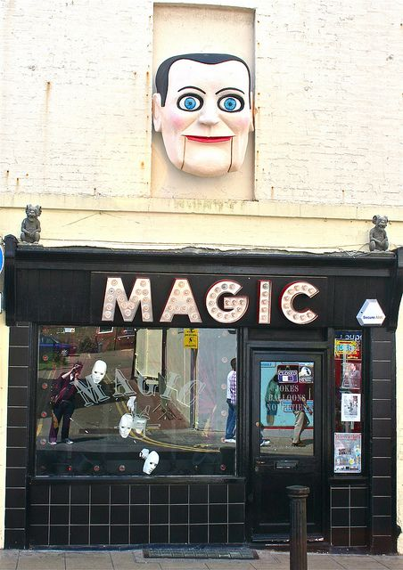 Magic shop, Brighton