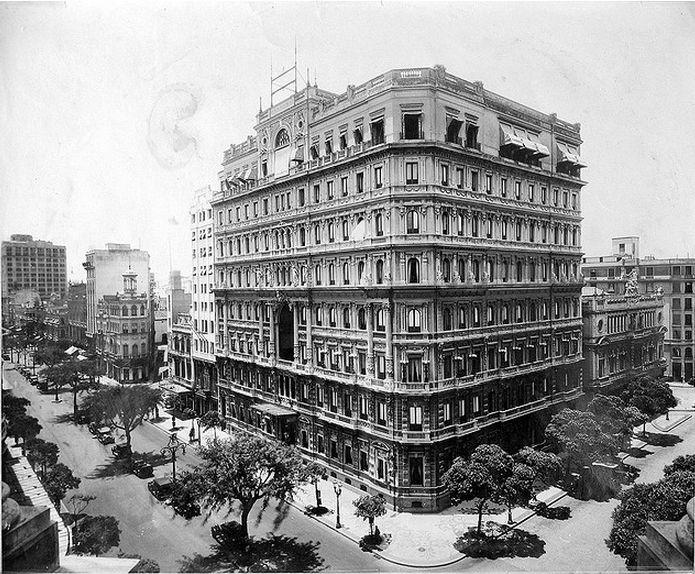 Hotel Palace - Avenida Rio Branco (antiga Avenida Central), Centro, Rio de Janeiro - RJ, Brasil