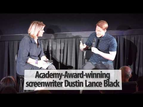 (7) Q&A with Academy-Award-winning screenwriter Dustin Lance Black - YouTube