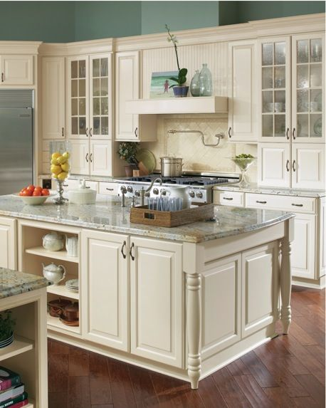 Timberlake cream glaze cabinets images standard stain shown timberlake s rushmore in a - How to glaze kitchen cabinets cream ...