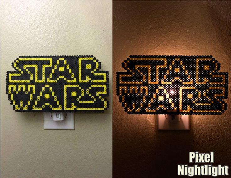 Star Wars Fan Inspired Nightlight Perler Beads by PixelNightlight