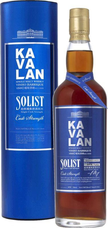 Kavalan Solist Cask Strength Vinho Barrique Whisky