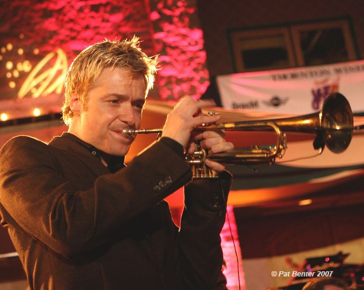 CHRIS BOTTI     If you like jazz check this guy out. One word describes him....Fabulous !