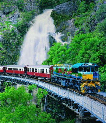 Kuranda Train--Definitely take the train back down from the Village.  Beautiful scenic views along the way.