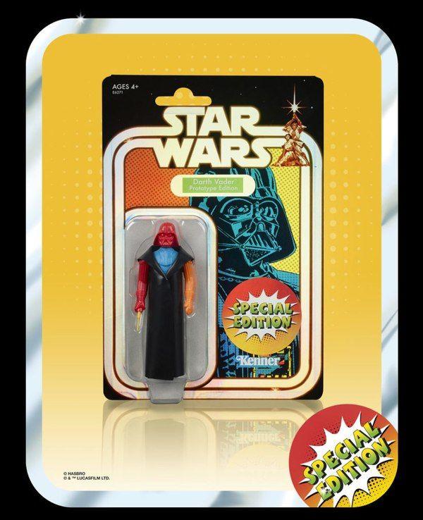 Star Wars Darth Vader Multi Colored Prototype Retro Edition SDCC 2019 Special