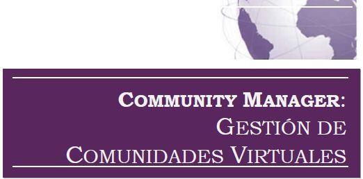 Excelente libro gratis: Community Manager - Gestión de comunidades virtuales de AERCO