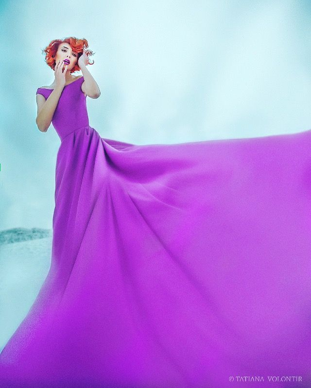 Violet dress Dress DesignAndreea Iftinca