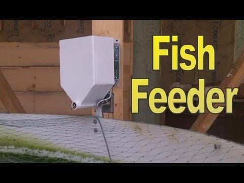 Automatic Fish Feeder by Rob Torcellini - for Aquaponics