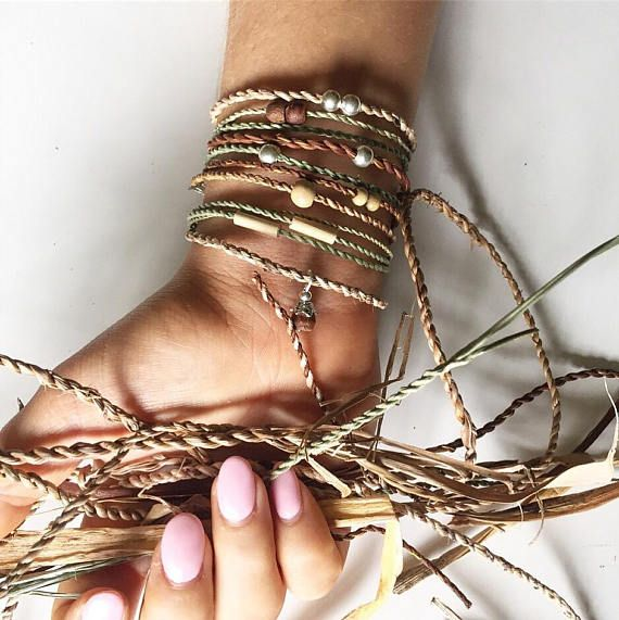 Grass bracelet, nature jewellery, natural bracelets, grass cordage, natural fibres, friendship bracelet,