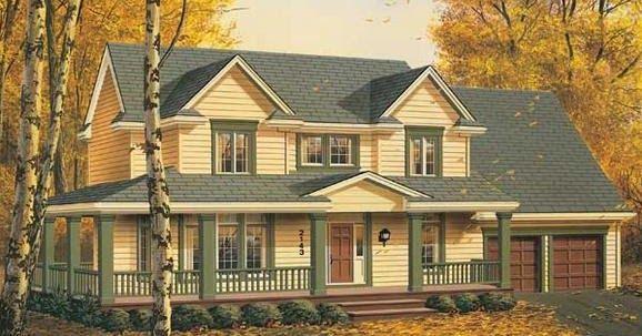 Vista Principal       Plano Primer Nivel       Plano segundo Nivel     Planos de construcción de casas de madera  la foto de este plano...