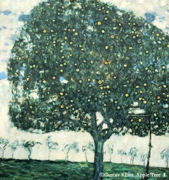 구스타프 클림트(Gustav Klimt ) - 사과나무(Apple tree 2) #art / Your Lifetime Gallery ::: www.cubbying.com