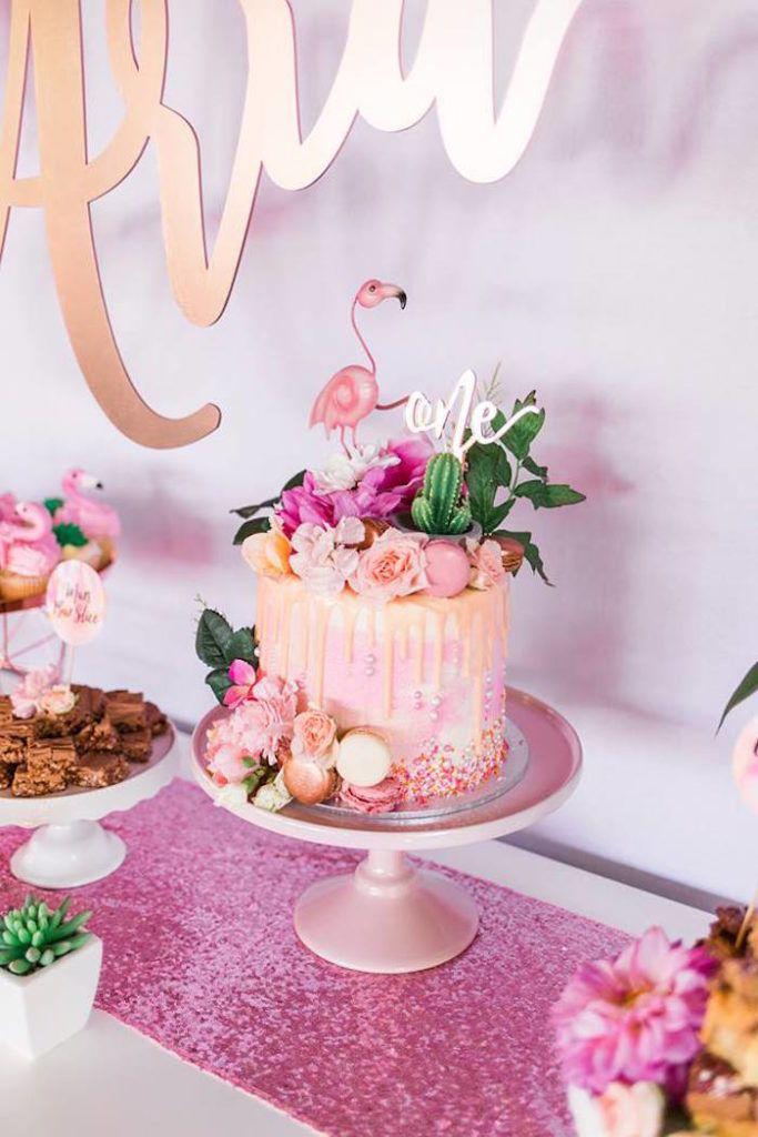 """Lassen Sie uns tropische Flamingo-Geburtstagsfeier flammen"""