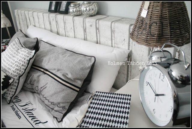 Kolmen Tähden Koti: SängynpäätyDIY
