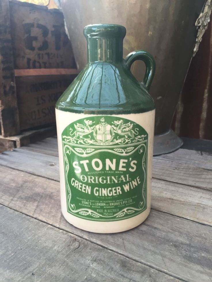 This is a photo of Ambitious Stones Ginger Wine Red Label
