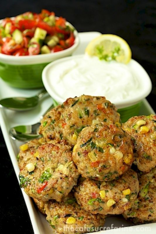 Chicken, Zucchini and Fresh Corn Burgers - move over burgers, these are fabulous and so much healthier!