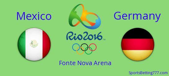 rio 2016 olympics mexico vs germany