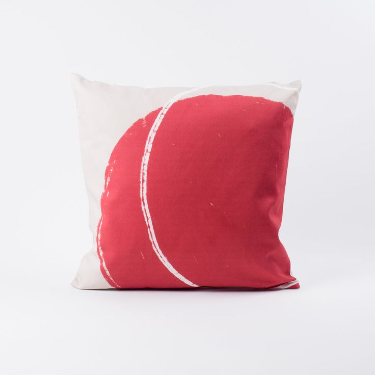 Red Balloon Cushion