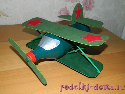 Военный самолет из бутылки — tvd.ru
