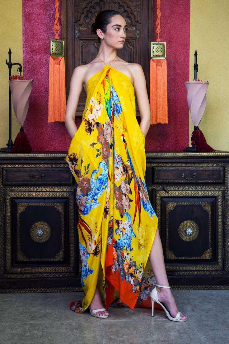Latest Silk Kaftans