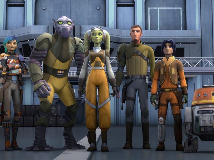 Which Star Wars rebels character are you? This says I'm the Grand Inquisitor. XD