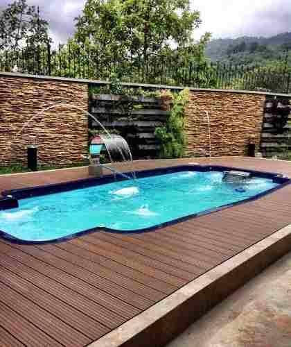 78 mejores ideas sobre piscinas fibra de vidrio en - Vidrio para piscinas ...