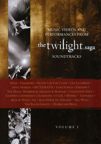 Music from Twilight Saga Soundtracks: Videos and Performances, Vol. 1 [DVD]