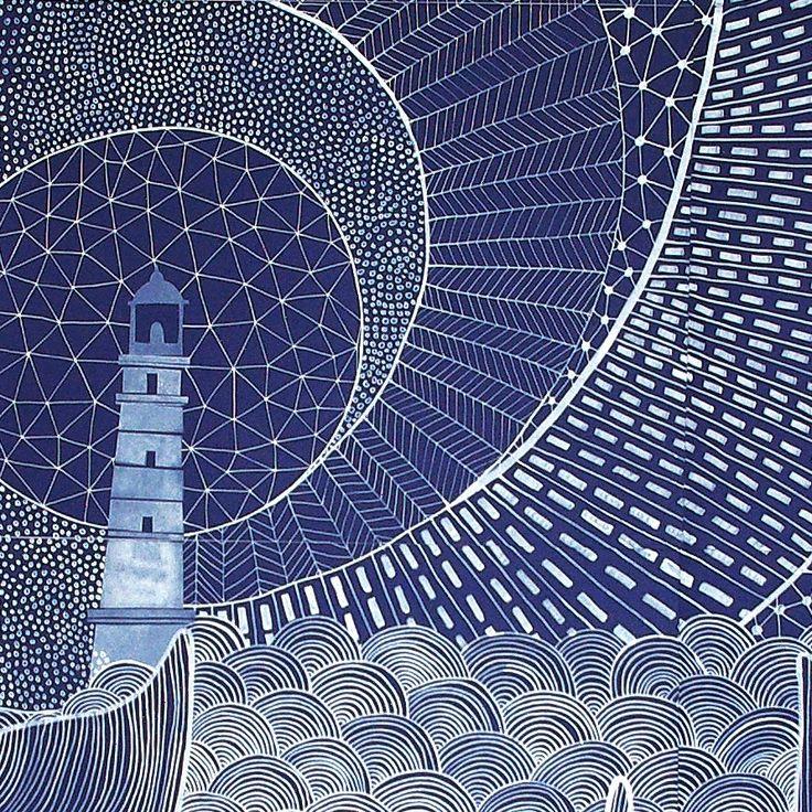 Lighthouse Art by Gemma Capdevila