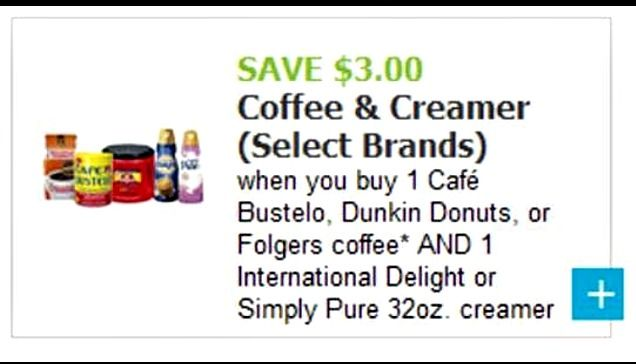Save Money on Your Favorite Coffees & Creamers! $3 Off Coupon For Café Bustelo, Dunkin Donuts, Folgers, & More! #ShareTheFlavor #ad