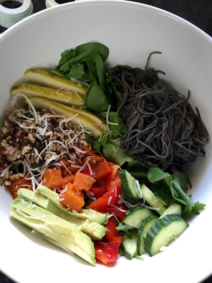 Black Bean Noodle Loaded Power Bowl Recipe @ https://www.facebook.com/myawesomefoods/photos/a.587166098037875.1073741831.585066831581135/715418485212635/?type=1&theater