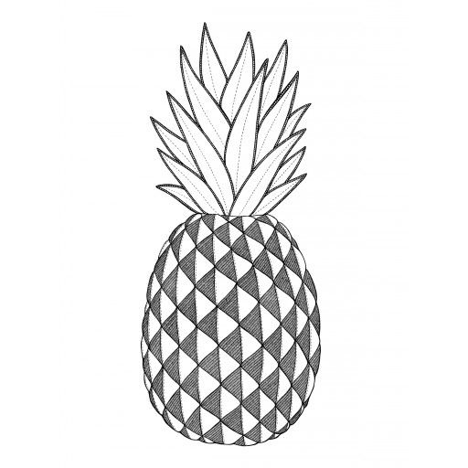 Pineapple, Poster by Tovelisa. #poster #pineapple #gifts #graduation #student #nordicdesigncollective