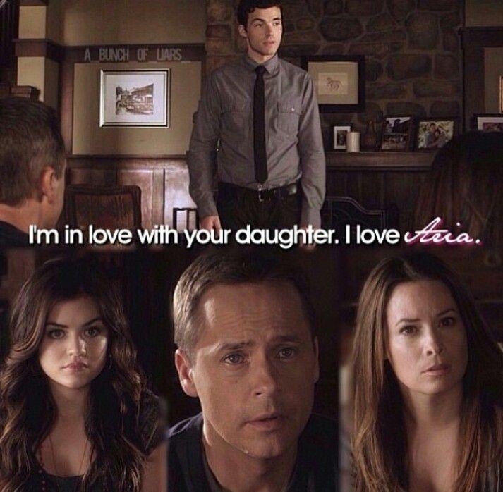 Ezra and Aria! True love 4ever!